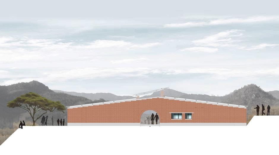 11_Manica Community centre elevation